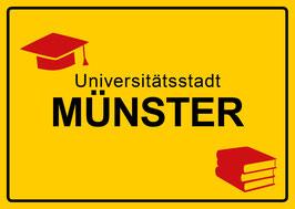 Ortsschild - Universitätsstadt