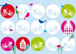 Fahrräder / Vögel
