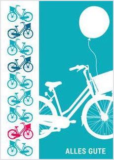 Fahrrad / Alles Gute