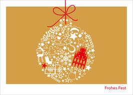 Kugel Weihnachten – Frohes Fest
