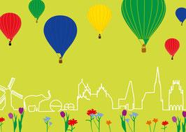 Skyline / Ballons