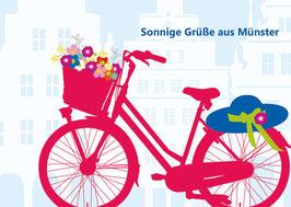 Fahrrad / Blumen