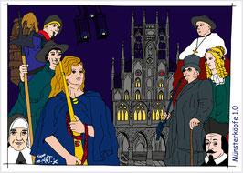 Münsterköpfe 1.0 - Comic-Art