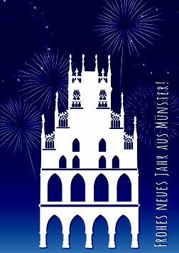 Rathaus Neujahr