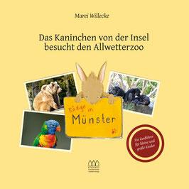 Rüdiger in Münster – Das Kaninchen von der Insel besucht den Allwetterzoo