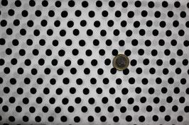 Polka-Dots schwarz-weiß 271