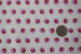 Dots Pink-rosa auf creme 264