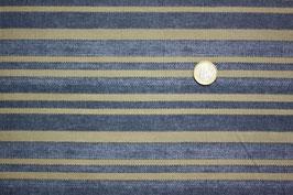 Streifen, jeans-taupe 263