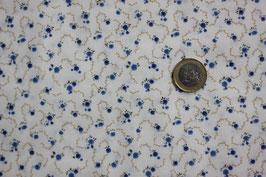 Blaue Blütenranken 343