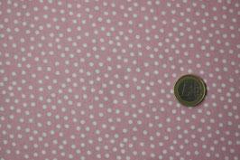 Mini-Dots rosa/weiß 266