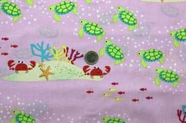 Meerestiere kräftiges rosa 302