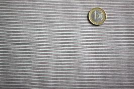 Streifen rotbraun - weiß 258