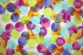 Aquarell-Punkte, multicolor 275