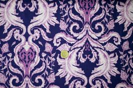 Florales Ornament - dunkles Lila/mauve/helles Lila 387