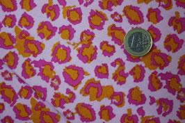 Leopard - pink/orange/rosa 392