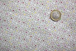 Dots bunt/grau-weiß 289