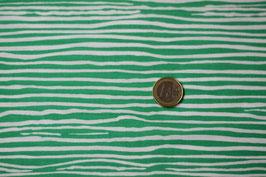 Streifen, hellgrün-weiß 255