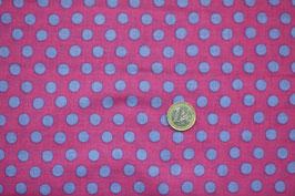 Polka Dots pink/blau 265