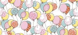Flanell, Bunte Luftballons