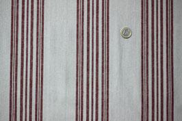 Landhaus, rot-weiß, breite Streifen 254