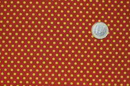 Dots gelb/kupfer-orange 290