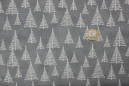 Grau mit weißen Weihnachtsbäumen 316