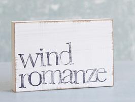 "Textplatte ""windromanze"" 10x15cm"