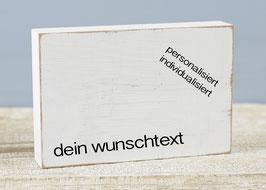 """Textplatte """"eigener Text"""" 10x15cm"""
