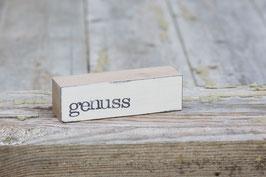 "Baustein ""genuss"""