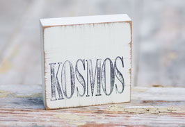 """Textplatte """"kosmos"""""""