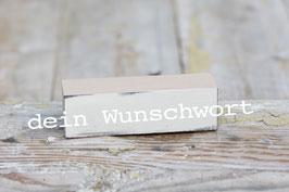Baustein DEIN WUNSCHWORT
