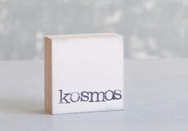 """Mini  Textplatte """"kosmos"""""""