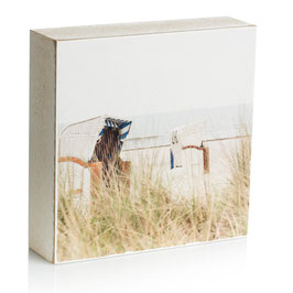 "Fotoplatte ""Strandkörbe"""