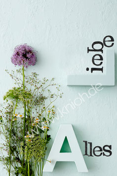 "Postkarte ""AL Alles Liebe"""