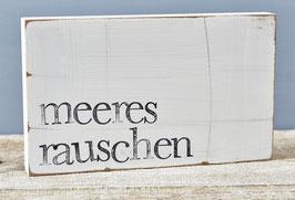 "Textplatte ""Meeresrauschen"" 15x25cm"