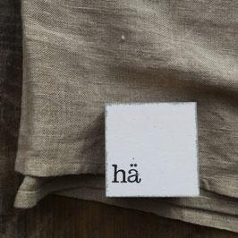 """Mini  Textplatte """"hä"""""""