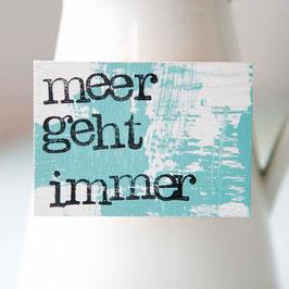 """Magnet """"meer geht immer"""""""