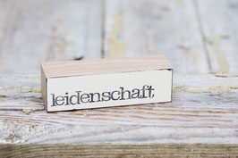 "Baustein ""leidenschaft"""
