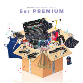Festivalbox PREMIUM für 5 Personen