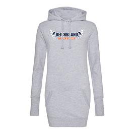 2019 Damen Longline Hoodie Grau