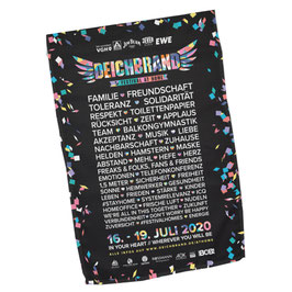 DEICHBRAND At Home Line Up Banner