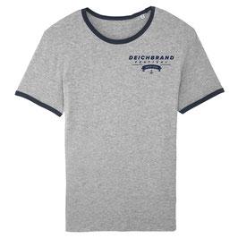 Herren Ringer Shirt Welle