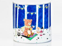L'ours aux lanternes