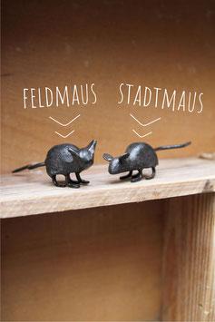 Kleine Maus aus Gusseisen