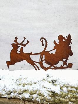 Weihnachtsschlitten zum Schrauben
