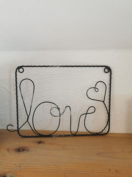 """Schild """"Love"""""""