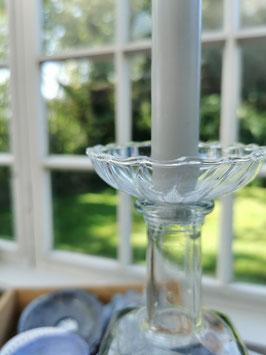 """Wachsauffänger aus Glas """"Klara"""""""