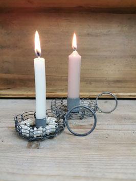 Kerzenhalter aus Draht