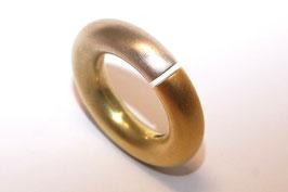 Niessing Ring in 750er Gelb- und Weißgold