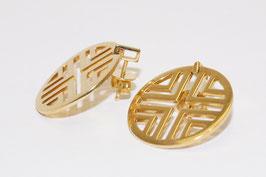 Runde Ohrringe von Jette Joop in 750er Gold